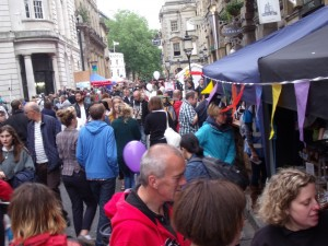 Corn Street - Carfree Sunday